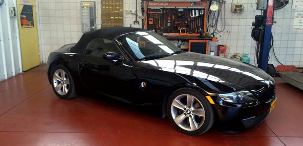 תיקון גג נפתח - BMW Z4
